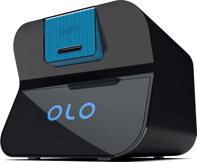 OLO blood count device