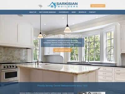 Boston web design portfolio thumbnail