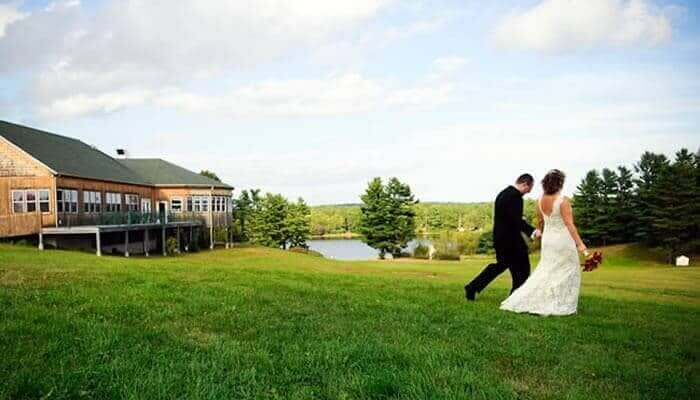 Spring Hill weddings Maine